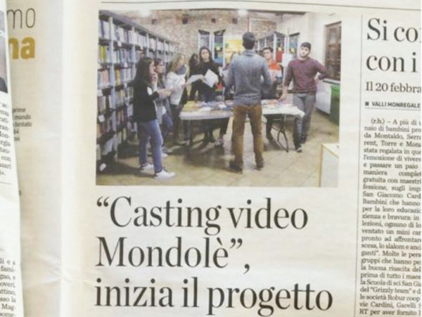 progetto video mondolè news
